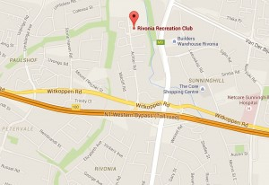 Rivonia Recreation Club map Jpg